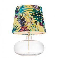 Feria 2 lampa stolowa 1 x 60W E27 (złoty / transparent / żółty)