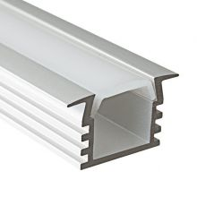 Profil wpuszczany do pasków LED PDS-4-K 100cm aluminium anodowane