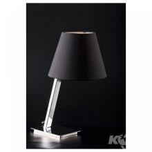 Orlando lampka stolowa e27/40W czarny abazur