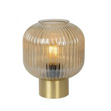 Maloto lampa stołowa bursztynowa 1x40W E27