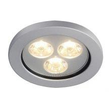 Eyedown oprawa wpuszczana LED 3x1W 12V aluminium