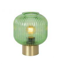 Maloto lampa stołowa zielona 1x40W E27