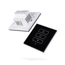 Dotykowy ściemniacz oświetlenia 10-200W 230V czarny (zdalnie sterowany)