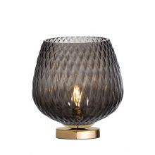 Venus lampa stołowa czarny/grafit/złoty 1x25W led E27