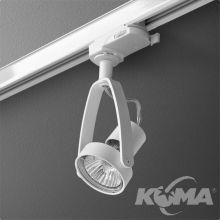 Arc reflektor na szynoprzewód biały (mat) 1x50W GU10 230V
