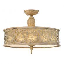 Carabel 3 lampa sufitowa plafon 3x60W E27 230V szampański szczotkowany