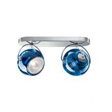 Beluga colour kinkiet/palafon 2x7W GU10 niebieski