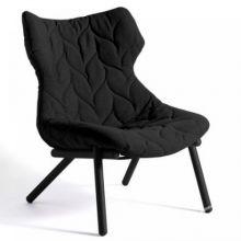 Foliage fotel 70x90x80cm cloth czarny/czarny