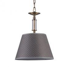 Zanobi lampa wisząca brąz 1x40W E14