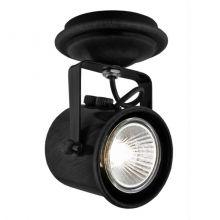 Cejlon reflektor 1x50W GU10 230V czarny