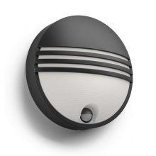 Yarrow kinkiet zewnętrzny z czujnikiem ruchu 1x6W LED czarny