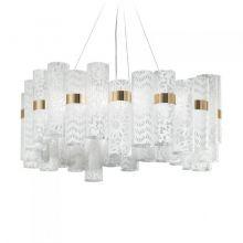 La Lollo lampa wisząca 56W LED 2700K 230V biała - koronka