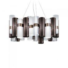 La Lollo lampa wisząca 80W LED 2700K 230V pewter white