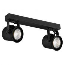 Cejlon reflektor 2x50W GU10 230V czarny