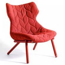 Foliage fotel 70x90x80cm cloth czerwony/czerwony