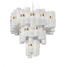 La Lollo lampa wisząca 100W LED 2700K 230V biała - koronka