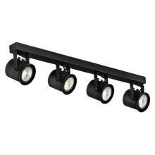 Cejlon reflektor 4x50W GU10 230V czarny