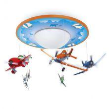 Disney Planes Samoloty lampa sufitowa 4,5W LED 230V niebieska