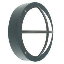 Rondane kinkiet/plafon zewnętrzny 1x10W E27 230V grafit