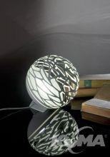 Lampa stołowa kelly biała