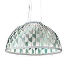 Dome Large lampa wisząca 55W LED 2700K 230V zielona