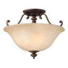 Dunhill lampa sufitowa królewski brąz 2x100W E27