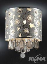 Gardenia plafon 3x40W E14 srebrny/chrom