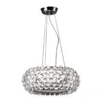 Acrylio lampa wisząca 70cm. 1x300W R7s
