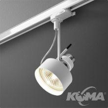 2000_P30 Phase_Control reflektor na szynoprzewód biały  struktura 1x75W E27 230V