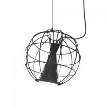 Latitude  lampa wisząca czarna 10W LED 2700 K