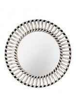 Cosmo mirror lustro czarno- srebrne