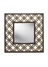Remy mirror lustro brąz/ złoto