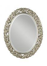 Lves oval mirror lustro postarzane srebro
