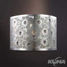 Gardenia kinkiet 1x40W E14 srebrny/chrom