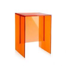 Max-beam taboret/stolik 33x27x47cm mandarynkowy