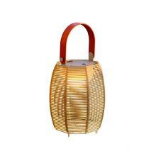 Tanit lampa stojąca bezprzewodowa czerwona/beżowa 1,5W led 2700K 54lm CRI 80 ściemnialna