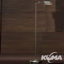 Office lampa podłogowa 1x42W E27 zieleń antyczna 25