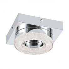 Fradelo lampa sufitowa/ścienna 4W LED 3000K 230V chrom