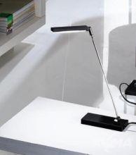 Lampa biurkowa 1x6W led wlacznik chrom/schwarz