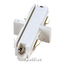 Łącznik podłużny do szyny 1-fazowej HV 230V biały