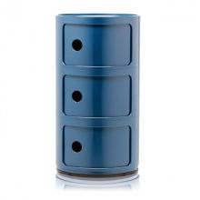 Componibili szafka modułowa 3-elementowa 58,5cm niebieska