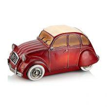 Nostalgi Car dekoracja stołowa 6x0,36W LED 3xAA czerwony