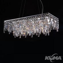 Lavenda lampa wisząca 11x20W G4 chrom