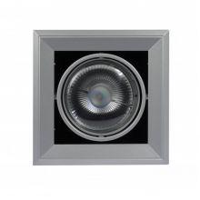 Aixlight Mod 1 oprawa wpuszczana 1x75W GU10 ES111 230V srebrnoszara