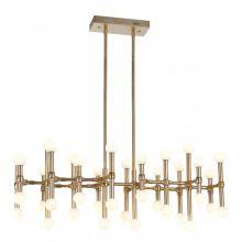 Giovanna lampa wisząca LED brąz 96W 3000k