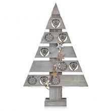 Blomskog choinka dekoracyjna świąteczna 0,8W led szara