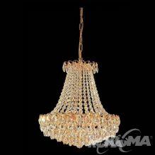 Kristall oprawa osw. 6pl 40W/E14 47cm gold