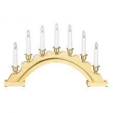 Celine Candlestick świecznik 7x3W E10 naturalny brąz