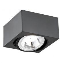 Rodos LED lampa sufitowa 5W LED 230V czarna