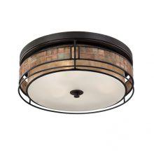 Laguna  lampa sufitowa renesansowa miedź 3 x 40W E27